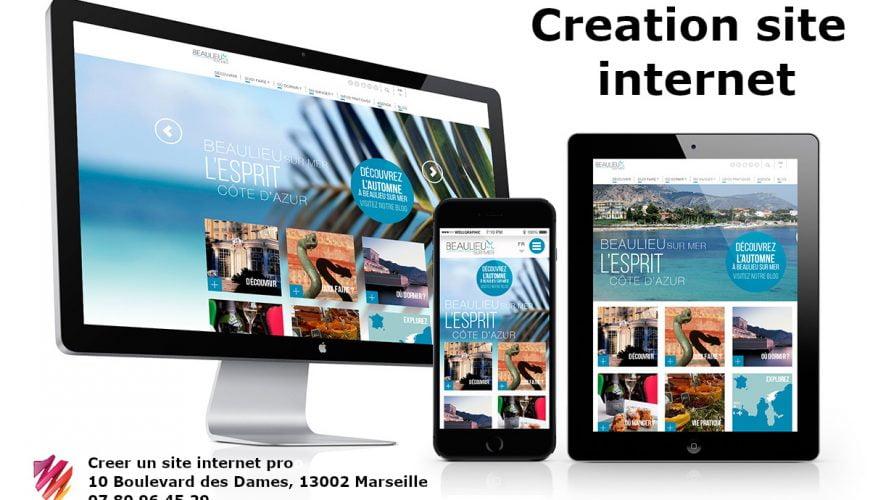 Creation site internet marseille